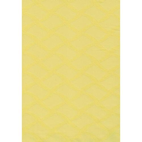 Ubrusovina s drobným vzorkem vlnky 2/169 žlutá